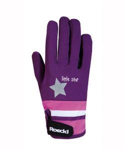 ROECKL Kinder-Reit Handschuhe Kelli, berry, 6