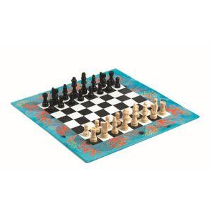 DJECO Chess - 38 x 16 x 3 cm, Holz, Junge/Mädchen, 6 Jahr(e), 10 Jahr(e)