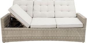 "Ploß Speise- / Lounge-Sofa 3-Sitzersofa ""Sahara Comfort"" 210 cm"