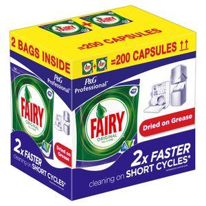 P&G Professional FAIRY Spülmaschinentabs, 2x 100 Stück