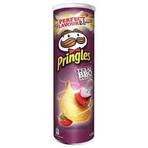 Pringles Texas BBQ Sauce Stapelchips mit Barbecue Geschmack 200g