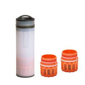 Grayl Ultralight Compact Outdoor Wasserfilter Alpine White & 2 Ersatzfiltern
