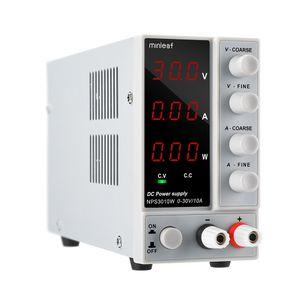 Minleaf 30V 10A Stabilisierung Labornetzgerät Digitalen Stromversorgung Regulated Switch 300W Einstellbares Digital DC-Netzteil Power Supply