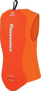 Komperdell Kinder ECO WEST Protektor, Größe:128, Farbe:orange