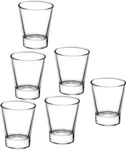 6 Espressogläser / Wodkaglas 85ml