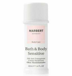 Marbert Bath & Body Sensitive Cream Deodorant ohne Aluminiumsalze 40 ml