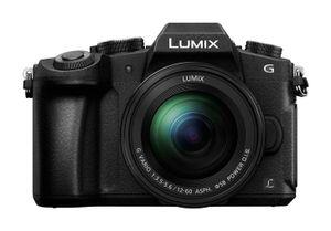 Panasonic Lumix DMC-G81 + G VARIO 12-60mm, 16 MP, 4592 x 3448 Pixel, Live MOS, 4K Ultra HD, Touchscreen, Schwarz