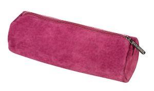 Herlitz Leder Faulenzerrolle / Schlamperrolle / Farbe: rot