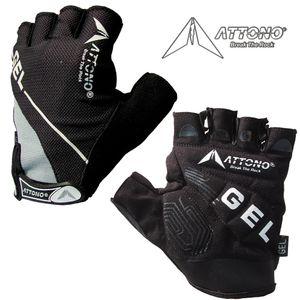 Gel Fahrradhandschuhe ATTONO® Fahrrad Mountainbike Handschuhe mit Gelpolsterung