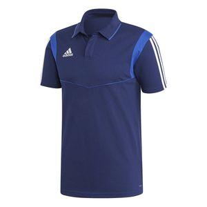 adidas TIRO 19 Herren Poloshirt Dunkelblau, Größe:L