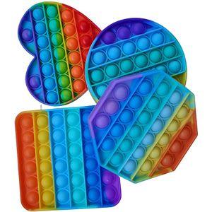 Kinder Lernspielzeug Push bubble pop it Fidget Toy Set, Baby Zappeln Spielzeug, Stressabbau Anti Stress