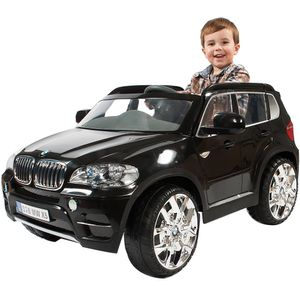 Kinderfahrzeug BMW - X5 SUV, 12V, RC, schwarz
