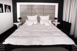 HS74 Decke 135x200 cm 1600 Gramm Daunendecke Bettdecke 15% Daunen 85% Federn Mayaadi Home