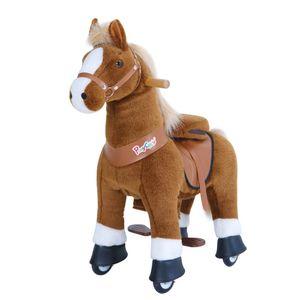 PonyCycle Braunes Pferd für 4-9 Jahre
