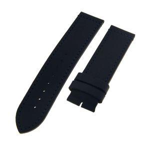 NAUTICA Ersatzband Uhrenarmband LEDER blau 22mm ohne Schließe
