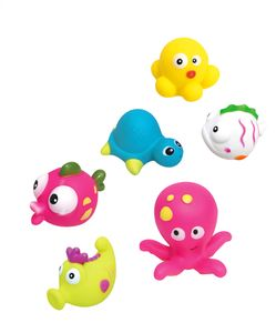 Badespielzeug Meerestiere 6tlg.