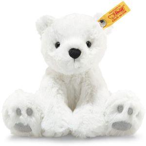 Steiff 062629 Soft Cuddly Friends Lasse Eisbär, Plüsch, 18 cm, weiß
