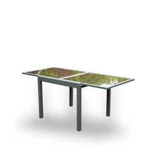 HOME DELUXE - Gartentisch VERANO ausziehbar 90/180cm Balkontisch Esstisch Tisch