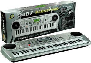 Kinder Keyboard Piano elektrisch Klavier 54 Tasten mit vielen Funktionen