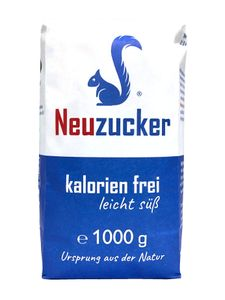 Neuzucker kalorien frei, leicht süß, 1000 g Papierbeutel