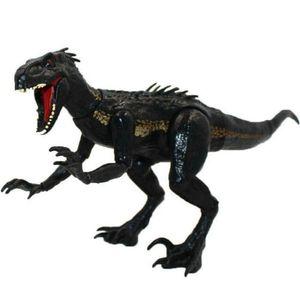 Jurassic World Toys Jurassic Park Schwarze Indoraptor-Dinosaurier 15cm