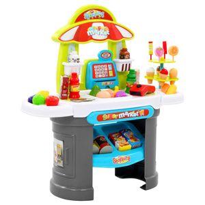 Kinder-Kaufladen-Spielset 51-tlg. 68 x 25 x 67,5 cm - Kinder Geschenke