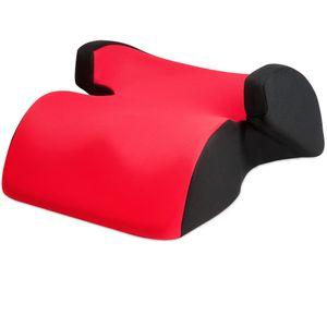 Universal Auto Kindersitzerhöhung ECE 44-04 Autositz Sitzerhöhung Kinderautositz, Farbe:rot