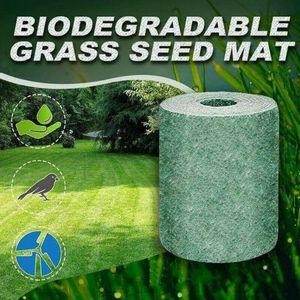 Garten Rasen Pflanzmatte, Pflanzenwachstum Dünger Matte Germination Matte, Biologisch abbaubare Rasensamen Matten für Pflanzen (20*30cm)