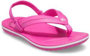 Crocs Kids' Crocband™ Strap Flip Zehentrenner Pink - Mädchen, Größe:28-29