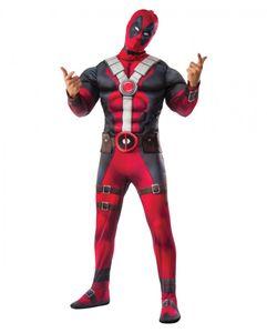 Marvel Comics Deadpool Herrenkostüm Männer Größe: S