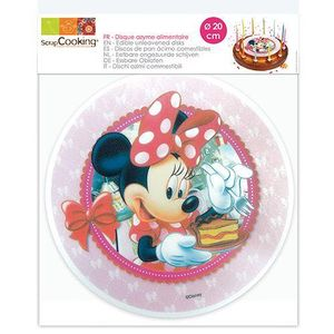 Minnie Mouse Tortenaufleger Ø 20 cm