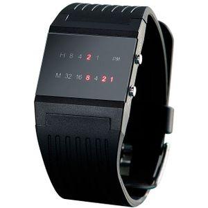 Binäre Armbanduhr, Binär-Armbahnduhr, Binäruhr, Uhr mit Binäranzeige, coole Uhr als Geschenk für Männer