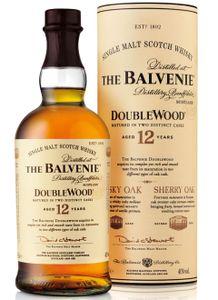 The Balvenie 12 Jahre Old Double Wood Single Malt Scotch Whisky in Geschenkpackung   40 % vol   0,7 l