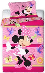 Disney Minnie Maus Kinder Bettwäsche Kopfkissen Bettdecke Micky 100x135 cm