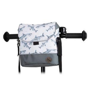 BAMBINIWELT Lenkertasche Tasche für Puky für Woom Laufrad Räder Roller Fahrrad Fahrradtasche für Kinder wasserabweisend mit Schultergurt, Modell 17