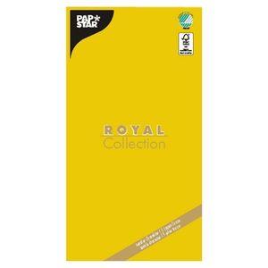 """Tischdecke, Tissue """"ROYAL Collection"""" 120 cm x 180 cm gelb"""