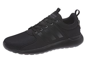 adidas neo Cloudfoam Lite Racer Herren Sneaker Schwarz BB9819, Größe:43 1/3