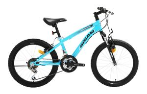 20 Zoll Kinder Jungen Mädchen Fahrrad Kinderfahrrad Mtb Mountainbike Fahrrad Rad Bike Federgabel Gabelfederung 21 GANG Beleuchtung STVO KDS 2750 BLAU