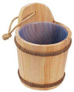 Saunakübel aus Fichtenholz von NICOL