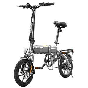 Markboard 14 zoll E-Bikes,7,5Ah Batterie, 250 W Motor, Reichweite bis 45 km,Stoßdämpfung vorne und hinten,Elektrofahrrad Pedelec Cityräder Klapprad Fahrrad aus Luftfahrtaluminium
