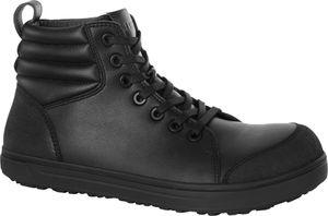 Birkenstock Sicherheitsschuhe QS700 black Naturleder 1011235, Größe + Weite:46 normal, Farben:black