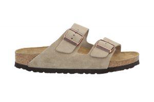 BIRKENSTOCK Arizona Herren klassische Sandale Beige Schuhe, Größe:44