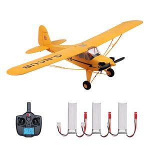 Wltoys RC Flugzeug 5-Kanal bürstenloses ferngesteuertes Flugzeug für Erwachsene Stuntfliegen 3D 6G-Modus Auf dem Kopf stehendes RC-Flugzeug