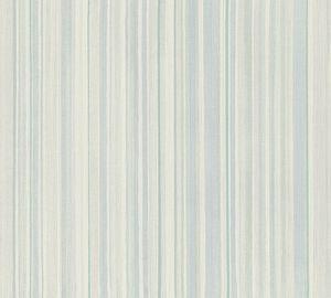 A.S. Création Streifentapete Attractive gestreifte Tapete Vliestapete blau weiß grün 10,05 m x 0,53 m