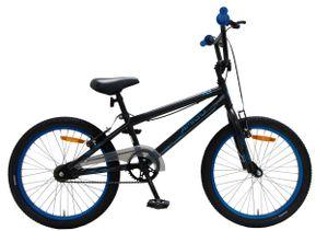 Amigo Fly - Kinderfahrrad für Jungen - 20 zoll - mit Handbremsen und Reflector - BMX Fahrrad - ab 5-9 Jahre - Schwarz