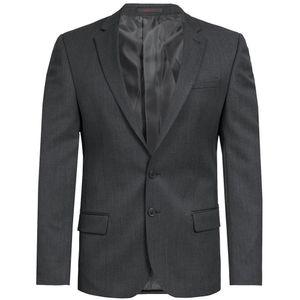 Größe 90 Greiff Corporate Wear Basic Herren Sakko Slim Fit Anthrazit Modell 1132 7000