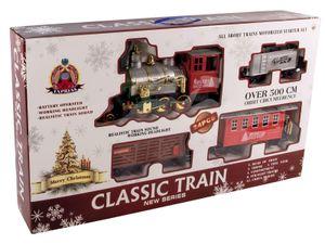 XXL Weihnachtszug - über 500 cm Schienen - CLASSIC TRAIN