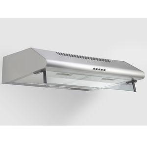 PKM Unterbau Dunstabzugshaube Wandhaube Unterbauhaube 60 cm Edelstahl UBH4060-2H