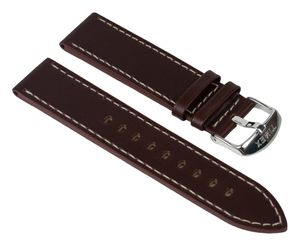 Timex Ersatzband Leder Braun  20mm