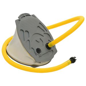 Chunhe Fußpumpe 21x29,5 cm PP und PE Grau und Gelb